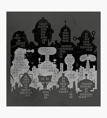 ROBOT CITY! Photographic Print