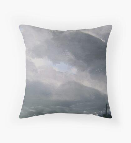 Coming Storm Throw Pillow