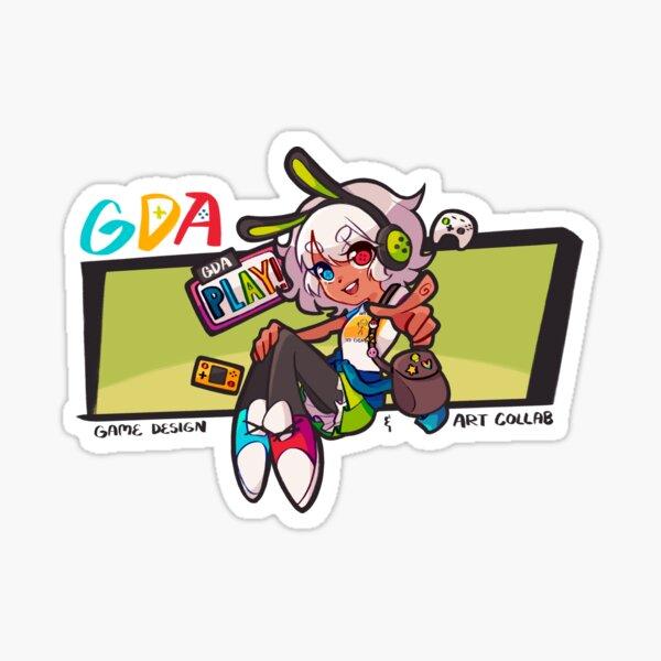 GDA Mascot Merch Sticker