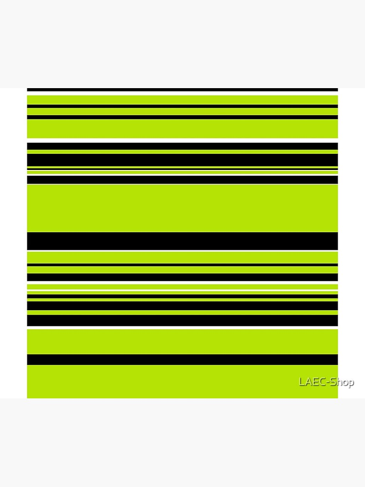 Complex Stripes - Lime Green by LAEC-Shop