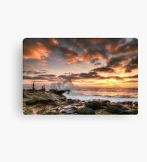 La Jolla Cove Sunset Canvas Print