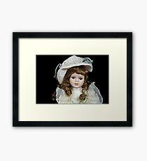 Vintage Doll Framed Print