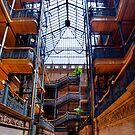 Bradbury Building by jswolfphoto
