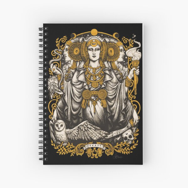 IBERIAN HECATE Spiral Notebook