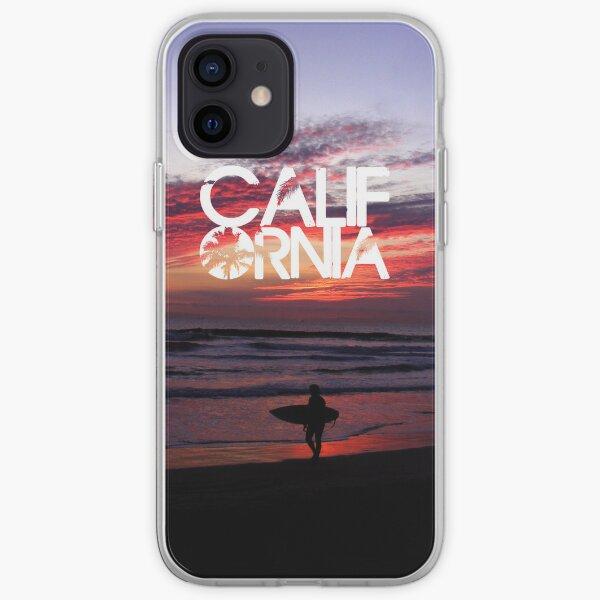Huntington Beach, California - Surfer iPhone Soft Case