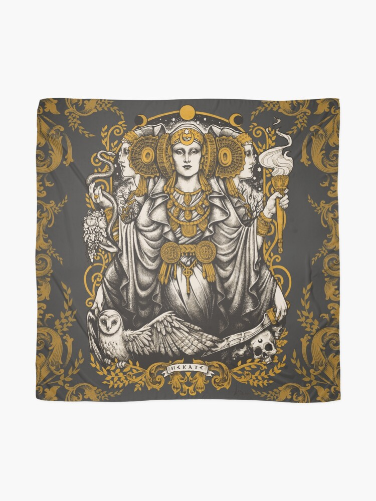 Alternate view of IBERIAN HECATE Scarf