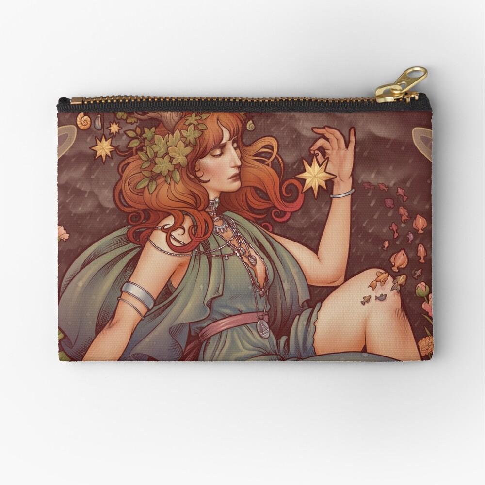 Art Nouveau BOHEMIA Zipper Pouch