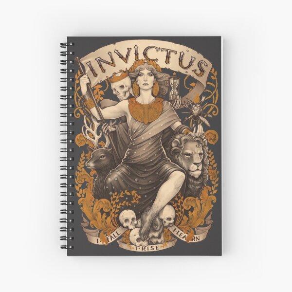 INVICTUS Spiral Notebook