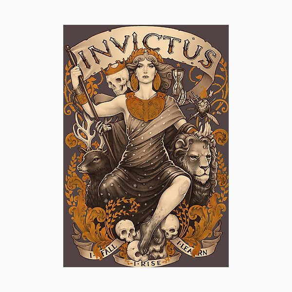 INVICTUS Photographic Print