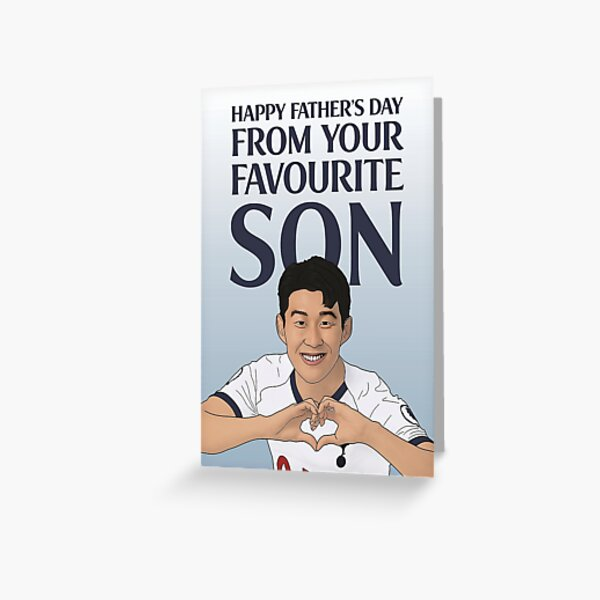 Heung-Min Son Father's Day Card Greeting Card
