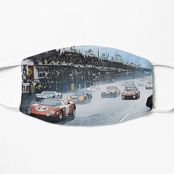 Le Mans 1964 start Flat Mask