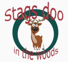 Stag Doo in the Woods