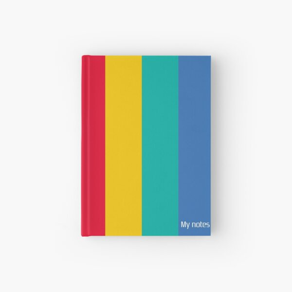 Copia de My notes - inspired by Playstation colors - Red version Hardcover Journal