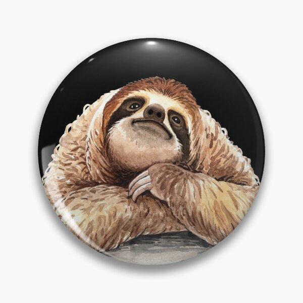 Smiling Sloth Pin