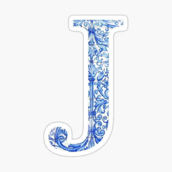 Tile J Sticker