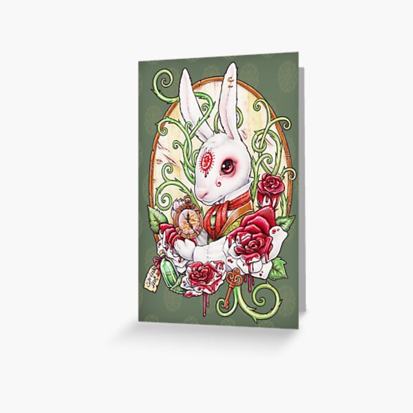 Rabbit Hole Greeting Card