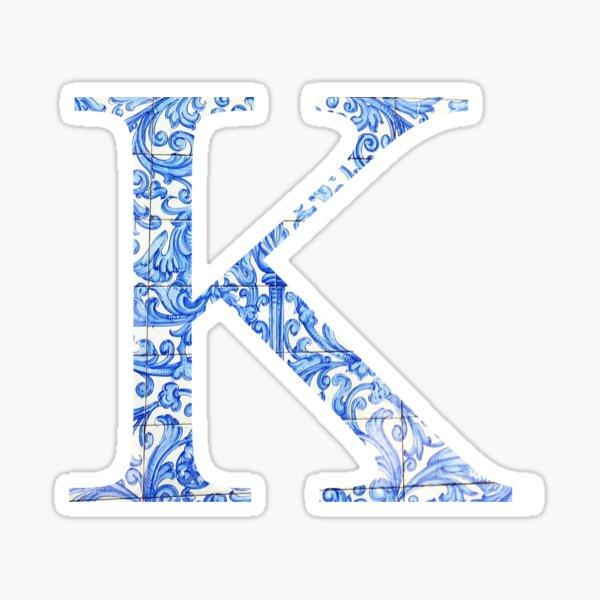 Tile K Sticker