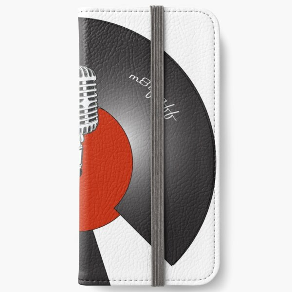 What a Broken Record iPhone Wallet