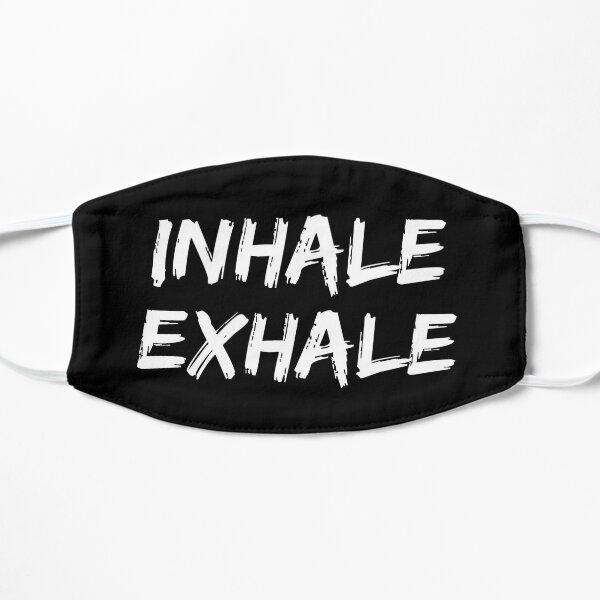 INHALE EXHALE - BREATHE - The Prodigy [White] Flat Mask