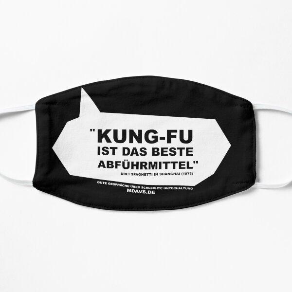 Zitat Deutsch Drei Spaghetti in Shanghai Maske