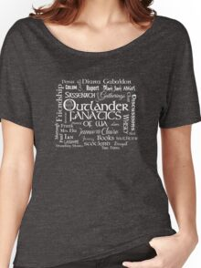 OFWA Word Cloud Logo White Women's Relaxed Fit T-Shirt