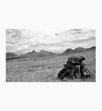 Peat Photographic Print