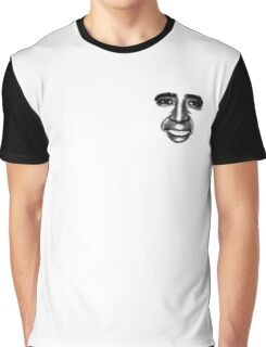 Nicolas Cage as a T-Shirt Graphic T-Shirt