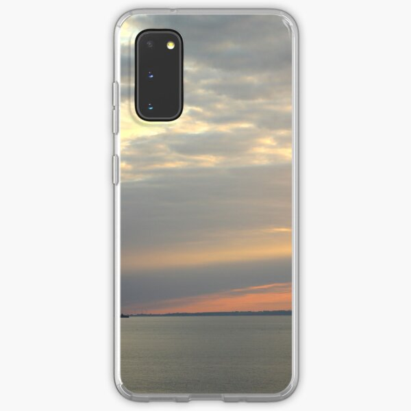 Sunset over the sea Samsung Galaxy Soft Case
