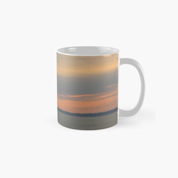 Sunset over the sea Classic Mug