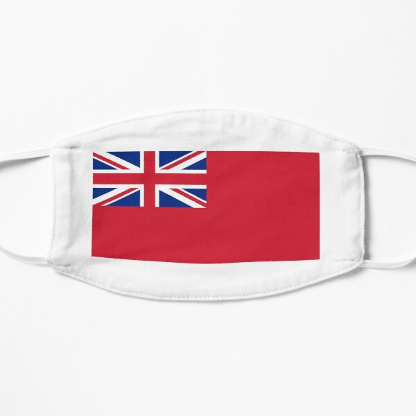 Red Ensign. NAVY, Merchant Navy, Flag, Red Duster, Royal Navy Flag. Mask