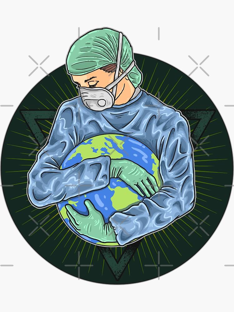 Heal the world one hug at a time - brainbubbles von brainbubbles