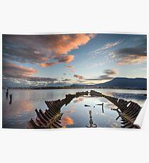 Otago Bay Shipwreck - Hobart Poster