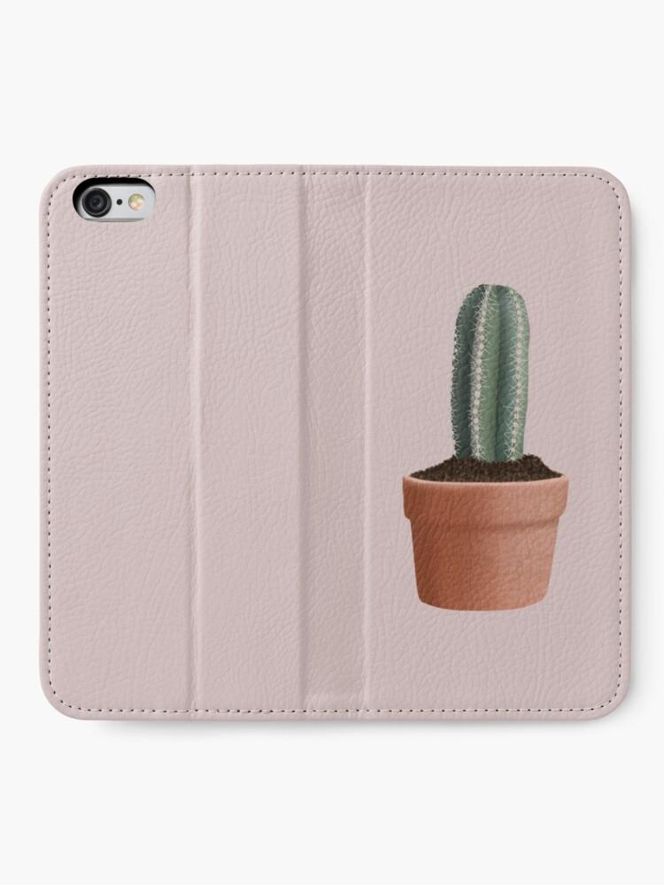 Alternate view of Cactus iPhone Wallet