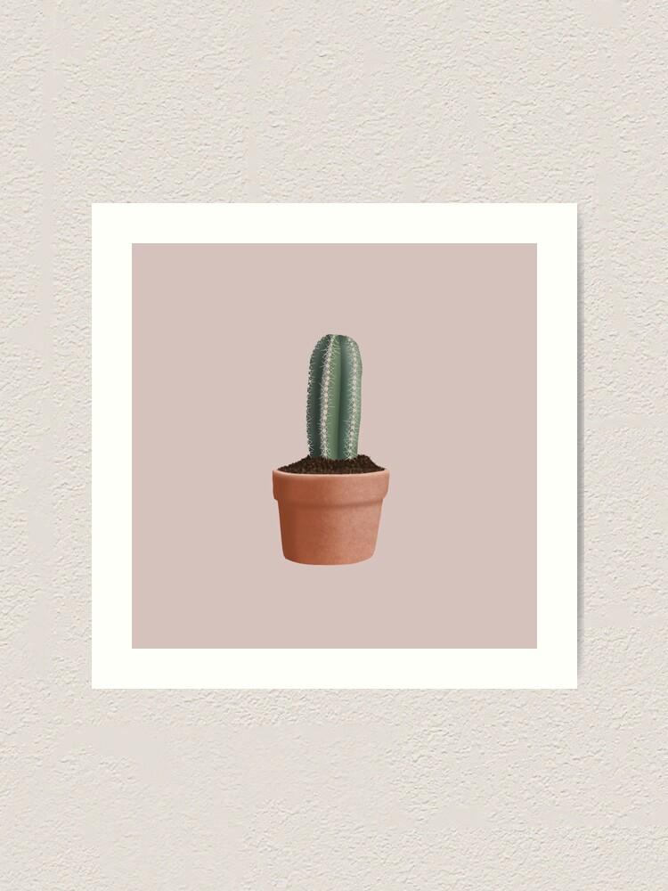 Alternate view of Cactus Art Print