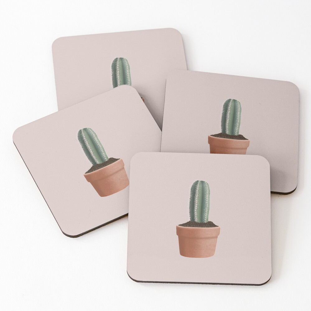 Cactus Coasters (Set of 4)
