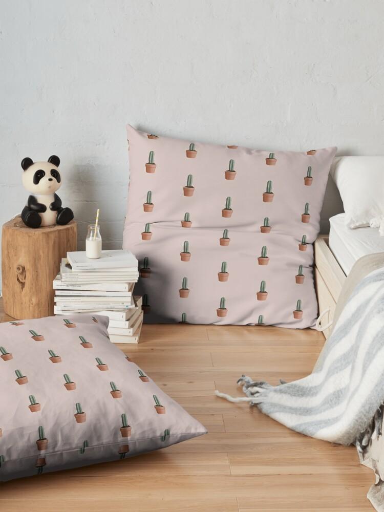 Alternate view of Cactus Floor Pillow
