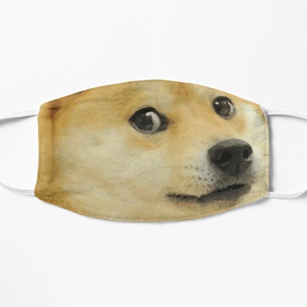 Doge Meme chien japonais Masque sans plis