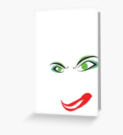 Crazy  Greeting Card