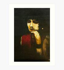 Jones on Canvas Art Print