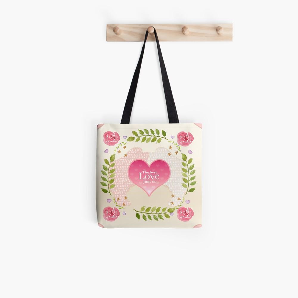 Big Love Pattern  Tote Bag