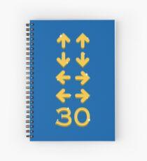 Curry Code Spiral Notebook