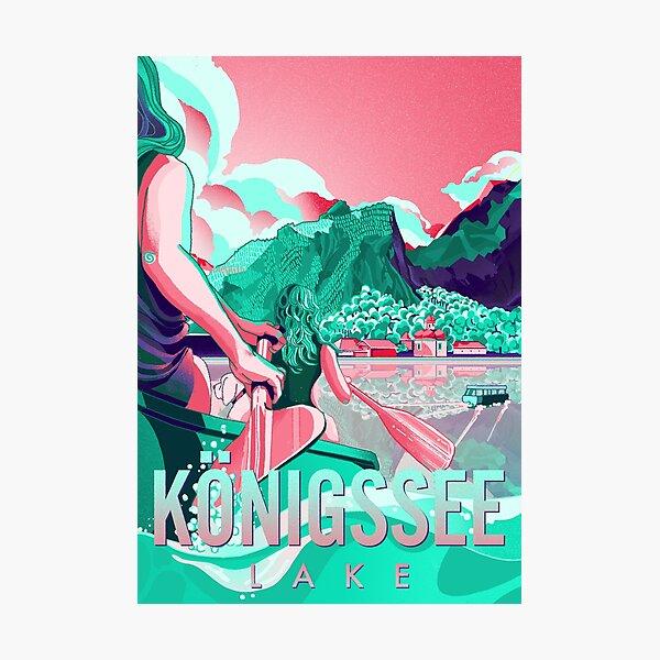 Köngissee Lake Photographic Print