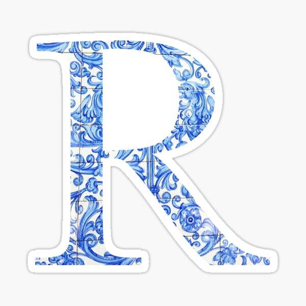 Tile R Sticker