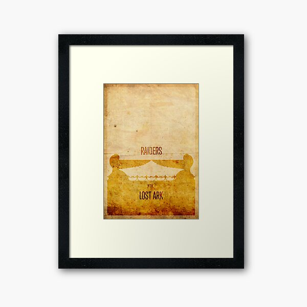 Raiders (aged) Framed Art Print