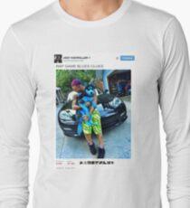 "Riff Raff Tweet ""Rap Game Blues Clues"" Long Sleeve T-Shirt"