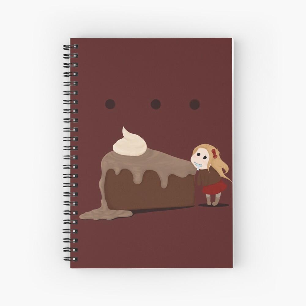 Mmmm...Cake! Spiral Notebook