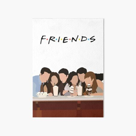 Friends Art Art Board Print