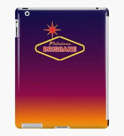 Fabulous Brisbane iPad Case/Skin
