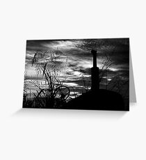"""The Day's End"".... Greeting Card"