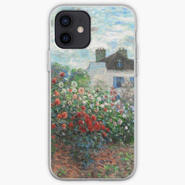 Jardin de l'artiste Claude Monet Beaux-Arts d'Argenteuil Coque souple iPhone